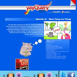 yayQuery Podcast - A jQuery Podcast