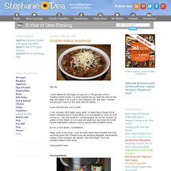CrockPot 16 Bean Soup Recipe