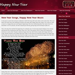 New Year Songs, Happy New Year Music, Tracks