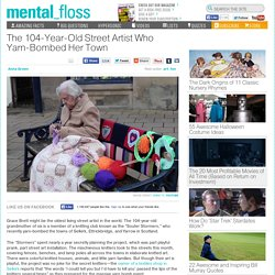 The 104-Year-Old Street Artist Who Yarn-Bombed Her Town ...
