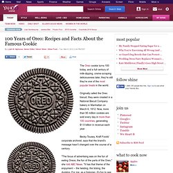 100 Years of Oreo: Recipes and Facts About the Famous Cookie | Shine Food