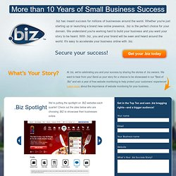 Celebrating 10 Years of Small Business Success | biz