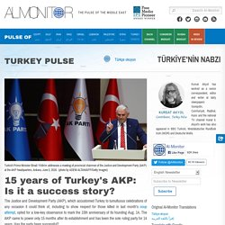 15 years of Turkey's AKP: Is it a success story?