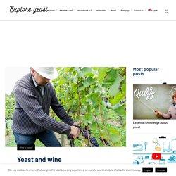 Yeast and wine