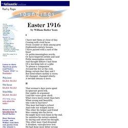 Yeats - Easter 1916