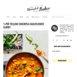 Thai Yellow Cauliflower Chickpea Curry