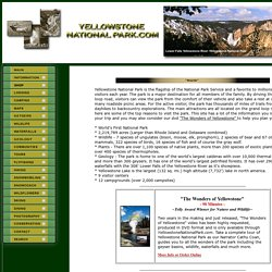 Yellowstone National Park.com - Visit Yellowstone National Park