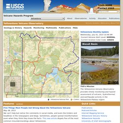 Volcano Hazards Program Yellowstone Volcano Observatory