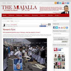 Yemen's Turn | The Majalla
