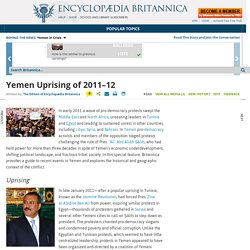 Yemen Uprising of 2011-12