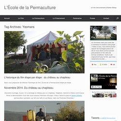 Yeomans Archives - L'École de la Permaculture