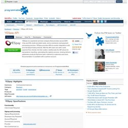 YESpay API Profile