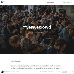 #YesWeCrowd