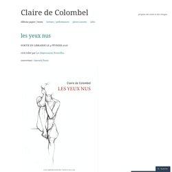 Claire de Colombel