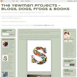 Blogs, perros, ranas y libros:. Letras de madera para niños