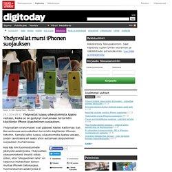 Yhdysvallat mursi iPhonen suojauksen