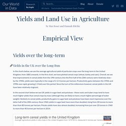#10 Yields and Land Use in Agriculture