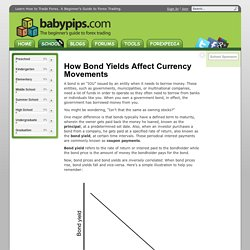 How Bond Yields Affect Currency Movements