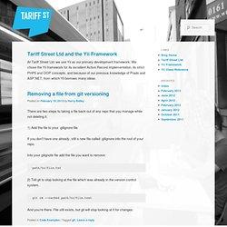 Tariff Street Ltd.