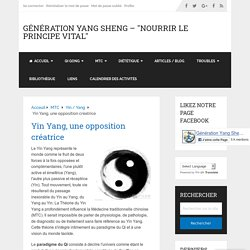 Yin Yang, une opposition créatrice