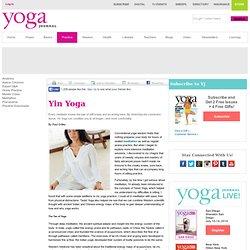 Yoga Asana Columns - Yin Yoga
