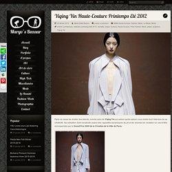 Yiqing Yin Haute-Couture Printemps Eté 2012