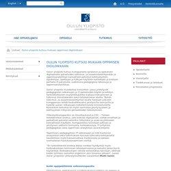 Oulun yliopisto kutsuu mukaan oppimisen digiloikkaan