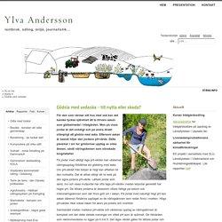 Ylva Andersson - Gödsla med vedaska