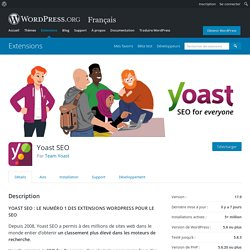 Yoast SEO – Extension WordPress