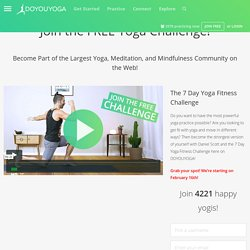 30-Day Yoga Challenge With Erin Motz on DoYouYoga.com