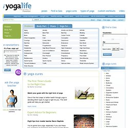 Yoga Cures at iYogaLife.com