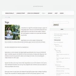 Elisabeths blogg