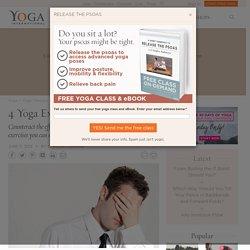 4 Yoga Exercises for Eye Strain