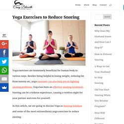 yoga for snoring treatment