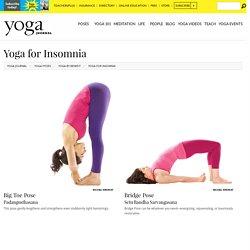 yoga contre Insomnie