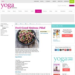 Feel-Good Quinoa Pilaf