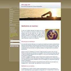 Yoga - Les mystères des mantras