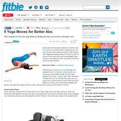 Yoga Moves For Stronger Abs