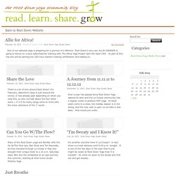 Yoga News Stories and Anecdotes from Root Down Yoga