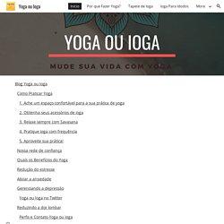 Yoga ou Ioga