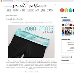 Yoga Pants: a tutorial