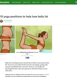 10 yoga positions to help lose belly fat