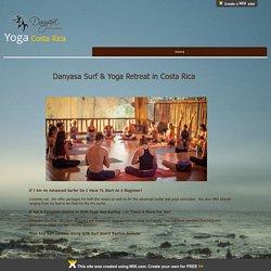 Surf & Yoga Reteats in Costa Rica!
