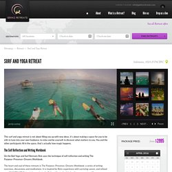 Surf and Yoga Retreat Bali
