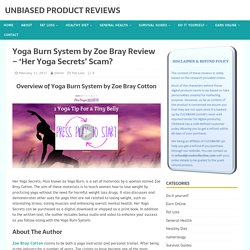 Yoga Burn System by Zoe Bray Review – 'Her Yoga Secrets' Scam?