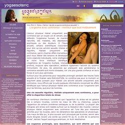 L'orgasme avec continence - meilleur que tout médicament