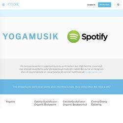 Yogamusik, hitta härlig musik att yoga till