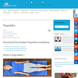 yoganidra : Yoga-nidra Guided Yogic Sleep Meditation