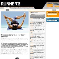 8 yogapositioner som alla löpare behöver!