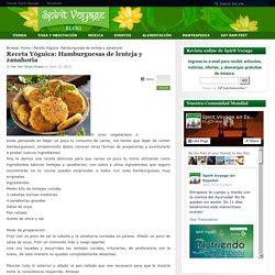 Receta Yóguica: Hamburguesas de lenteja y zanahoria